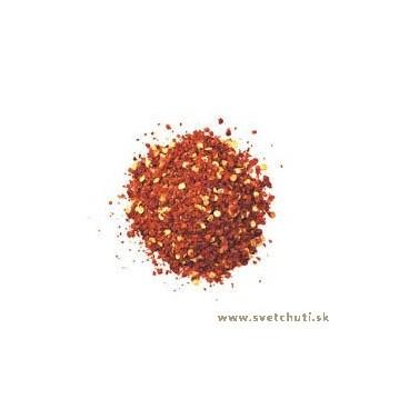 Chilli papričky drvené